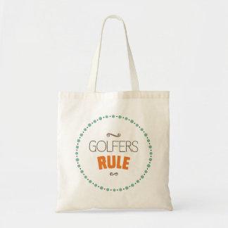 Golfare härskar toto tygkasse