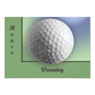 Golfboll 12,7 X 17,8 Cm Inbjudningskort