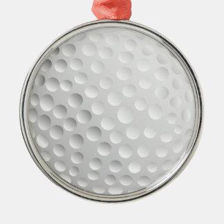 Golfboll Julgransprydnad Metall