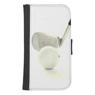 Golfboll och klubb samsung s4 plånboksfodral