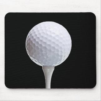 Golfboll och utslagsplats på den skräddarsy Svarte Musmatta
