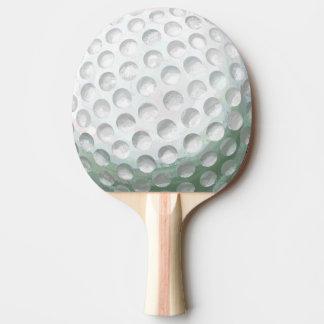 Golfboll Pingisracket