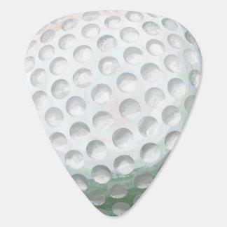 Golfboll Plektrum