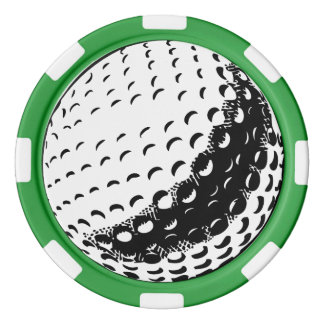 Golfboll - pokerchiper poker marker
