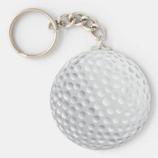Golfboll Rund Nyckelring