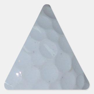 Golfboll Triangelformat Klistermärke
