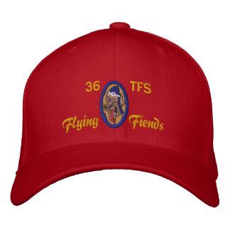 Golfhatt för 36 TFS Broderad Keps