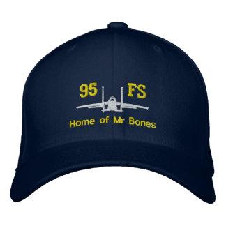 Golfhatt för 95FS F-15 med callsignen Broderad Keps