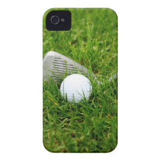 Golfklubb och golfboll iPhone 4 Case-Mate case