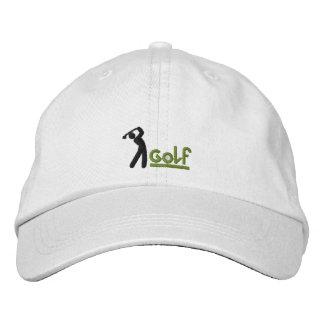 Golflock Hatt