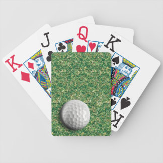 GolfPutt på den gröna Bicycle®en som leker kort Spelkort