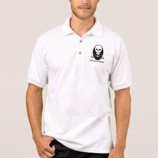 Golfskjorta - döda allvarliga stoppa i fickan polo tröja