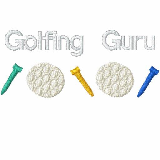 GolfspelGuru Broderad Tröja