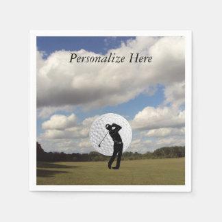 Golfvärld Papper Servett