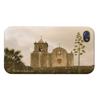 Goliad Texas Kyrka-Vintage/sepia iPhone 4 Cover