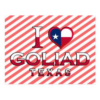 Goliad Texas Vykort