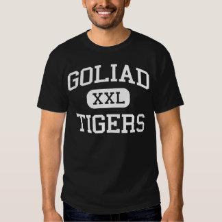 Goliad - tigrar - högstadium - Goliad Texas T Shirt