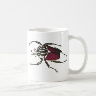 Goliath skalbagge kaffemugg