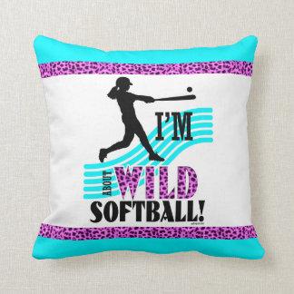 Golly flickor: Mig förmiddagVILD om softball Kudde