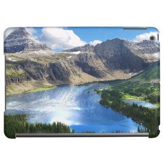 Gömd sjö i glaciärnationalpark