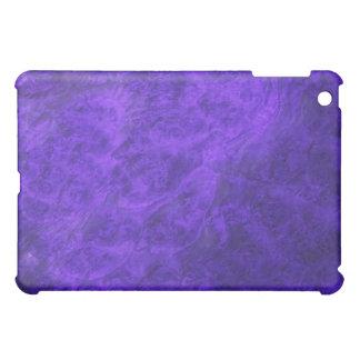 Gömda hundar i purpurfärgat valnötipadfodral iPad mini fodral