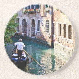 Gondol i den Venedig italien Underlägg Sandsten