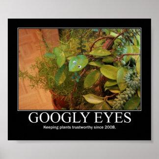 Googly ögon poster