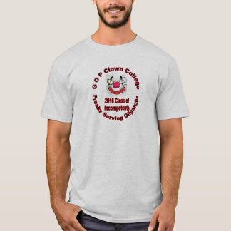 Gop-clownhögskola Tshirts
