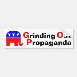 GOP: Mala ut propaganda Bildekal