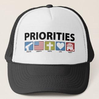 Gop-prioriteter Keps
