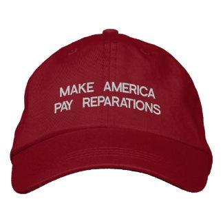 Gör Amerika att betala skadestånd Keps