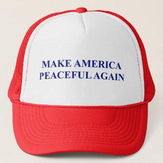 Gör Amerika fridsam igen Keps