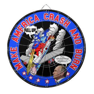 Gör Amerika kraschen & bränn Piltavla