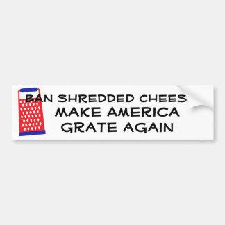 Gör Amerika osttrumf för spisgallret igen den Bildekal