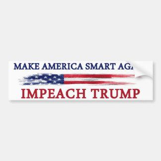 Gör Amerika smart igen för att impeach trumf Bildekal