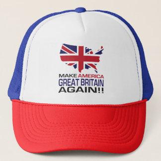 Gör Amerika Storbritannien igen! Keps