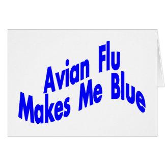 Gör Avian influensa H5N1 mig att slösa Hälsningskort