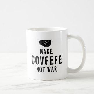gör covfefe att inte kriga kaffemugg