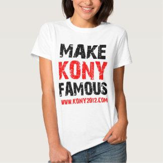 Gör den Kony berömden - Kony 2012 T-shirt