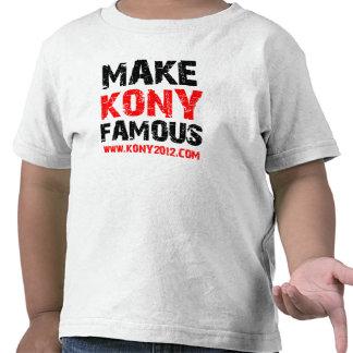Gör den Kony berömden - Kony 2012 T Shirts