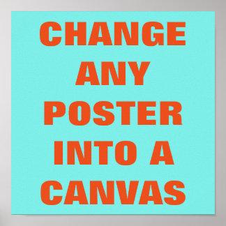 GÖR DET DIG ~-affischen Alice i underland Poster