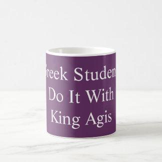 Gör det med muggen för kungen Agis Kaffemugg