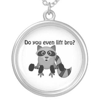 Gör dig även den hissBro raccoonen Silverpläterat Halsband