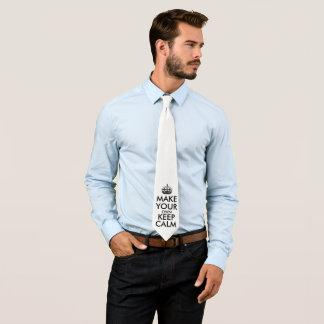 Gör din egna behålla att lugna slips