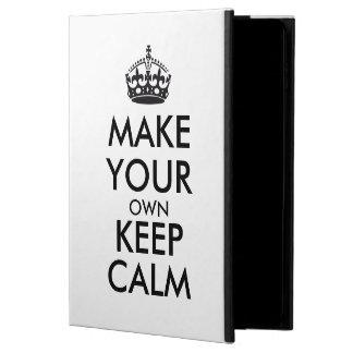 Gör din egna behållalugn - svart powis iPad air 2 skal