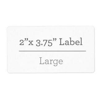 Gör din egna etikett 8,5 x 11 fraktsedel