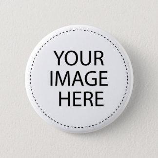 Gör din egna foto/design att knäppas standard knapp rund 5.7 cm