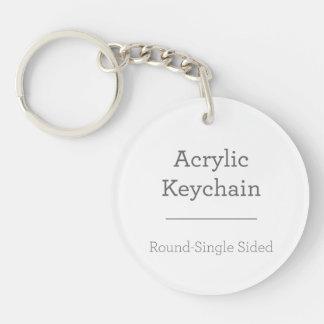 Gör din egna runda Keychain