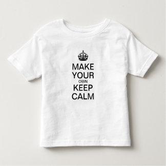 Gör dina egna behållalugnungar skjortan (mallen) tshirts