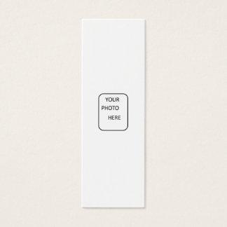 Gör ditt av en snäll bokmärke litet visitkort